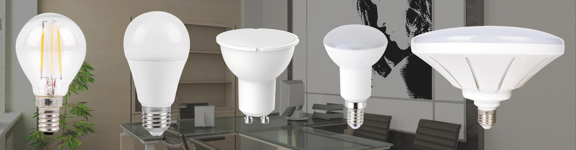 LED elektros lemputės